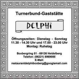 Delphi: Turnerbund-Gaststätte