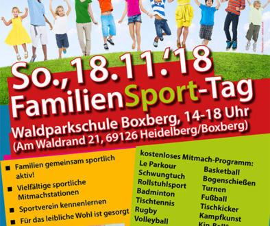 Sporteln am Sonntag, den 18.11.2018