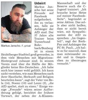 Markus Janscho: Unbeirrt – RNZ 02.03.19